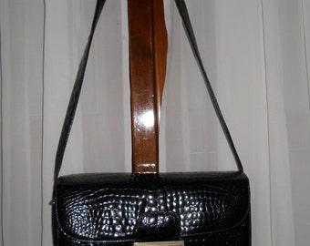 Vintage bag ! Reptile skin !