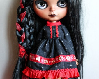 BLYTHE dress long sleeve