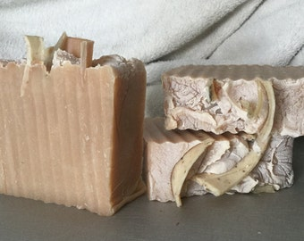 Beer, Goat's Milk & Aloe soap