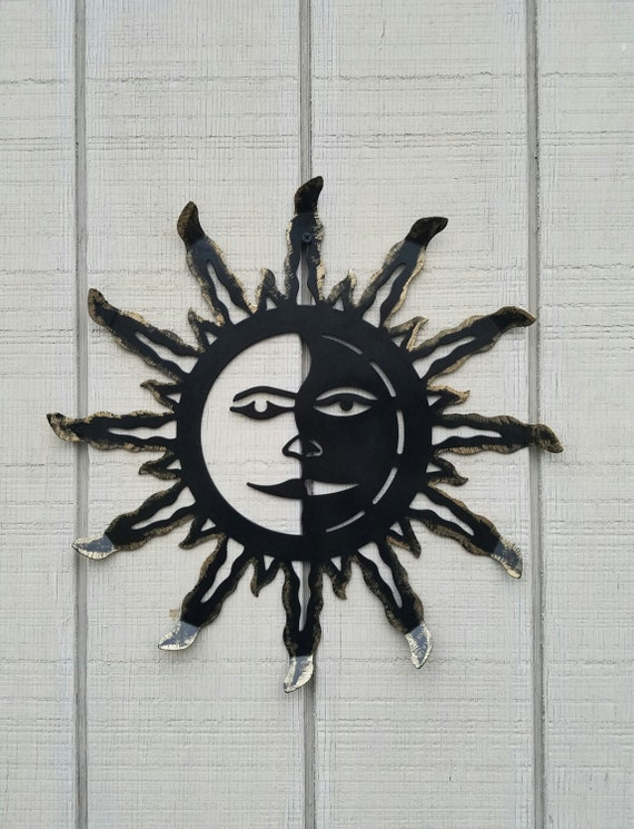 Metal Wall Art Metal Sun Decor Sun Wall Hanging Metal Wall