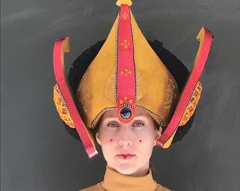 Queen Amidala, Star wars, foam costume headdress