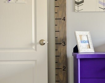 Growth Chart/Growth Chart Ruler/Personalized Growth Chart/Wooden Growth Chart/Nursery Decor