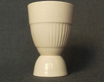 Vintage Double Egg Cup, Adams, Empress, Pink, Made in England