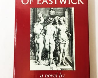 The Witches of Eastwick by John Updike.  First Edition vintage book circa 1984.  Alfred A. Knopf.  Brodart jacket cover.  Occult.