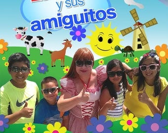Spanish Chidren's Video - Lucecita y Sus Amiguitos