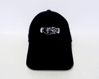 Fake Friends | Black Dad Hat