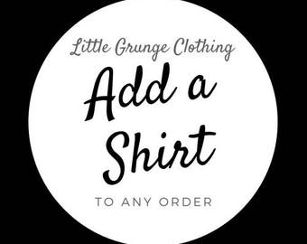 Add a Shirt to ANY Order