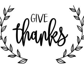 Give Thanks - Digital Download