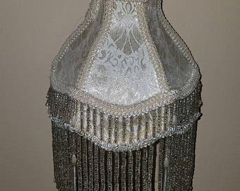 Vintage flapper beaded nightlight