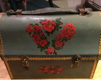 1940's Lunch Pail Converted Purse