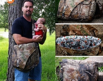 Urban Messenger Bag and Daddy Diaper Bag PDF Sewing Bag Pattern RLR Creations