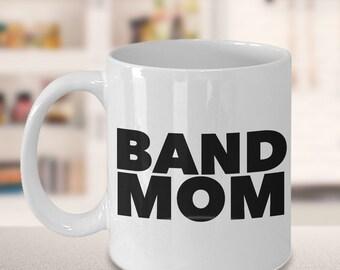 Marching Band Mom Mug Ceramic Coffee Cup Mom Gift