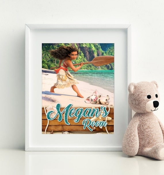 Personalized Moana Picture