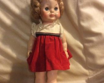 "Vogue Littlest Angel Doll 11"" All Vinyl Tagged original Clothing 1967"