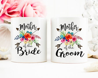 Mother of the Bride Coffee Cup, Mother of the Groom, Gift for mom, Wedding gift, mother in law gift, bridal party gift, wedding thank you
