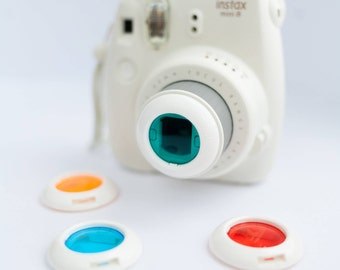 Instax Mini Color Filter Lenses for Fujifilm Instax Mini 8 and 7S.