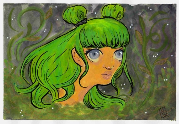Seaweed - Giclée Art Print 8x10