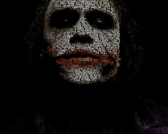 Word Art Poster - Joker