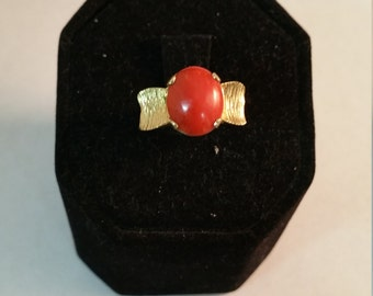 Ladies Carnelian 14kt Ring - #124