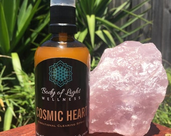 """Vibrational Clearing Spray """"Cosmic Heart"""""""