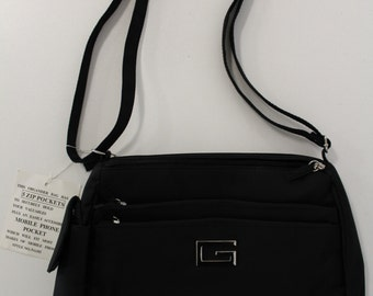 Tiered Handbag (Black)