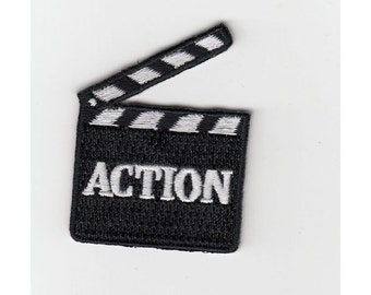 Action / iron on patch