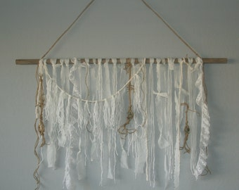 Yarn Tapestry Wall Hanging