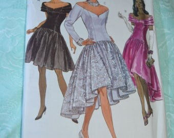 Vogue 8200 Misses Dress Sewing Pattern - UNCUT -  Size 12 14 16