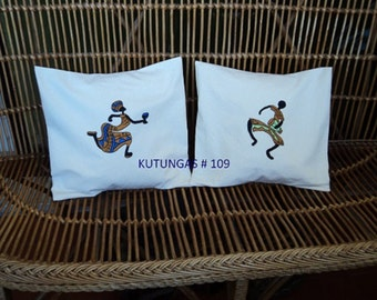 SET of 2 PILLOWS COVERS