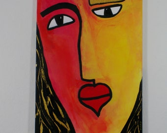 Queen of your life | Artwork | Painting | Acrylic painting