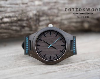 Personalized Wooden Watch for Men Husband Gift, Gifts for Dad, Boyfriend Gift, Wood Watches, Groomsmen Gifts, Gifts for Him, Groomsman Gift