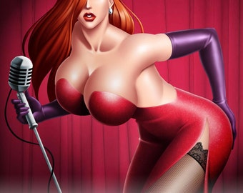 Jessica Rabbit PIN-UP