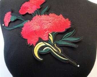 Iron-On Flower Patch Applique #7C1478