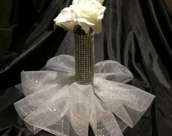 Wedding Gown Vase