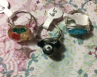 Clearance! Size 6.5 handmade rings