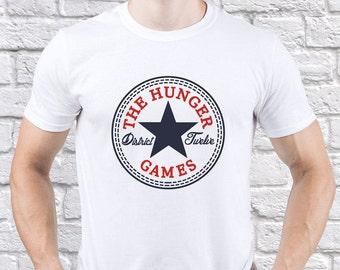 The Hunger Games/ District 12/ Mockingjay/ men tshirt/ District 12 tshirt/ District 12 tee/ Mockingjay tshirt/ Mockingjay shirt/ (HG03)