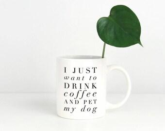Dog Mugs, Dog Lover Mug, Coffee Lover Mug, Dog Mom Mug, Pet Parent Gift, Fur Mama Gift, Pet Lovers Gift, Dog Dad Gift, Doggy Mom, Doggy Mug