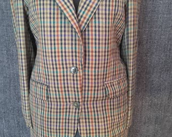jacket tiles traditional classic wool
