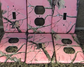 Artisan Series - Art Plates Pink Branches