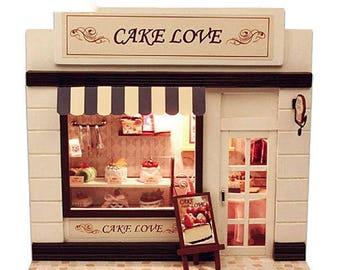 Dollhouse Design Cake : Miniature bakery Etsy
