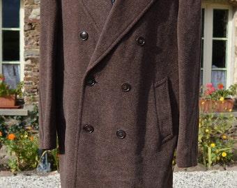Vintage brown overcoat