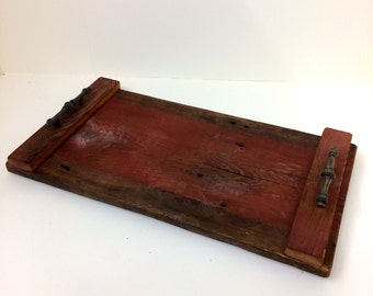 Reclaimed Barn Wood Serving Tray