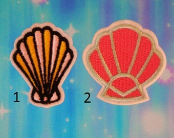 Cute Shells Iron on Patches