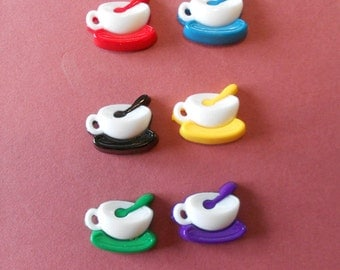 Snap Together Coffee Cup Set of 6