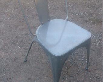 Metal patio chair. Industrial, suitable for indoor/outdoor use