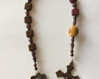 St. Francis Tenner Pocket Rosary Catholic Rosary