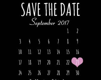 Rustic Save the Date- DIY Printable