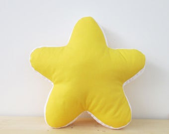 Pillow  | Yellow- Star