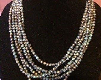 Antique patina beads.