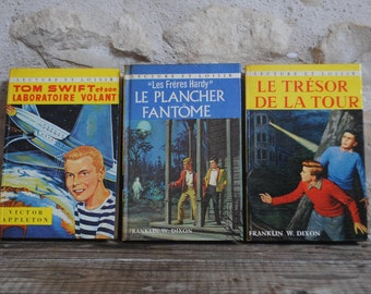 Pocket Hardy classic Boys Franklin Dixon Tom Swift reading and leisure Hardy brothers